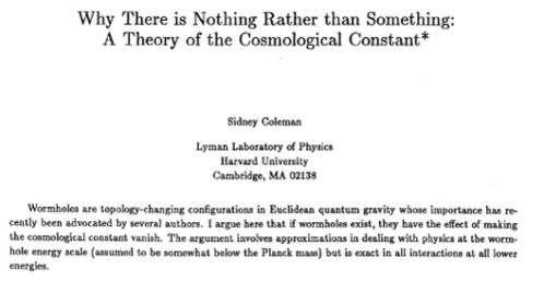 À lire, l'article complet de Sidney Coleman