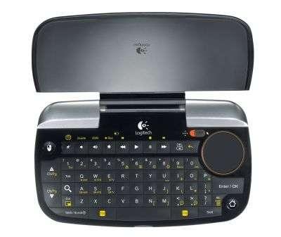 Le mini-clavier en option, moins encombrant que le grand modèle livré en standard. © Logitech