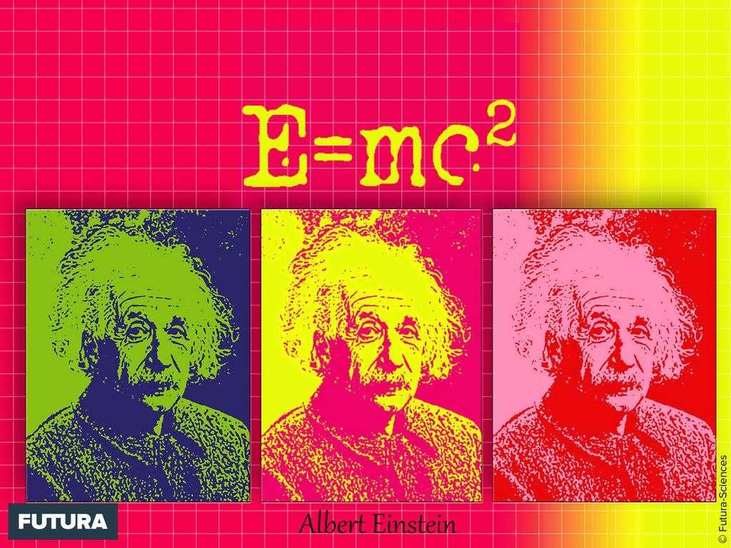 Albert Einstein vu par Warhol