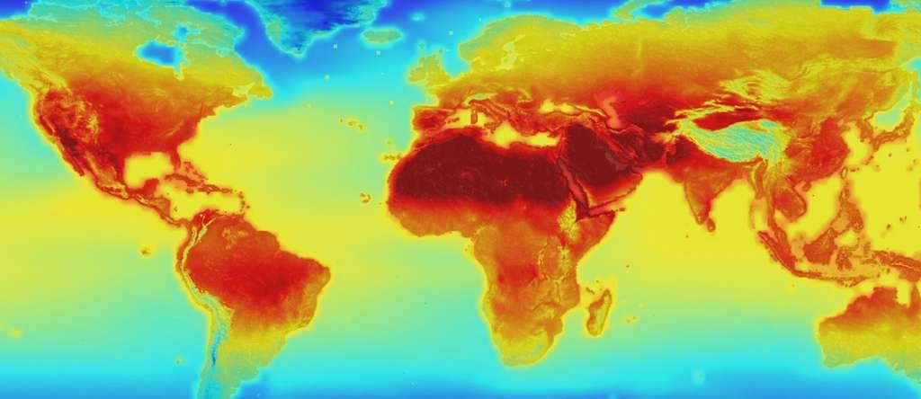 Le réchauffement climatique sera difficile à maintenir en dessous de 2 °C en 2100. Les prévisions du Giec étaient trop optimistes. © Nasa
