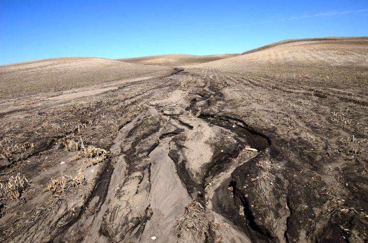 Les activités humaines augmentaient déjà l'érosion des sols il y a 4.000 ans. © Rick Bohn, United States Fish and Wildlife Service (Usfws)