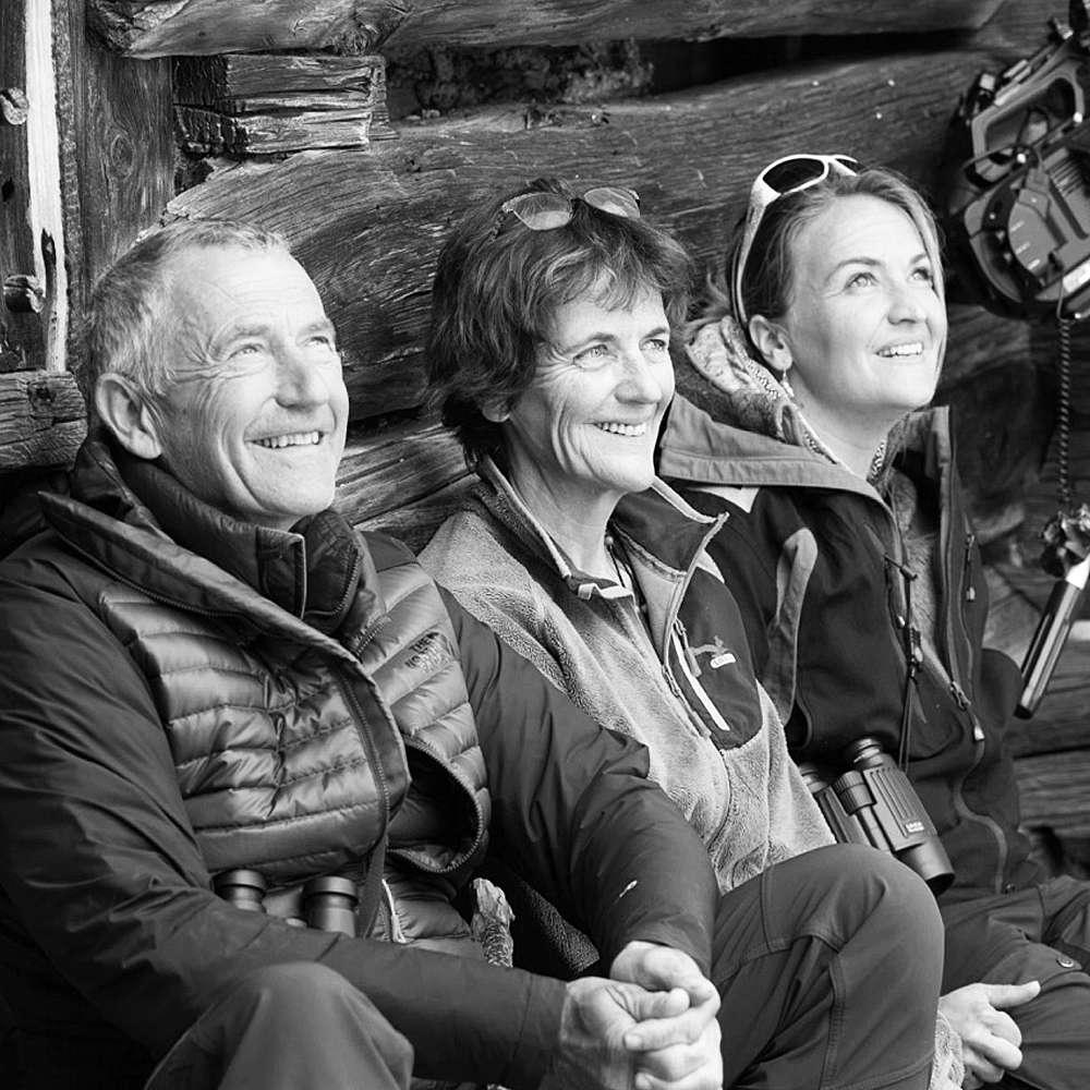 Erik, Anne et Véronique. © Erik Lapied, tous droits réservés