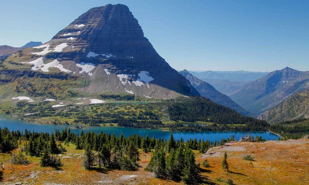 Le Hidden Lake, au parc de Glacier. © Antoine