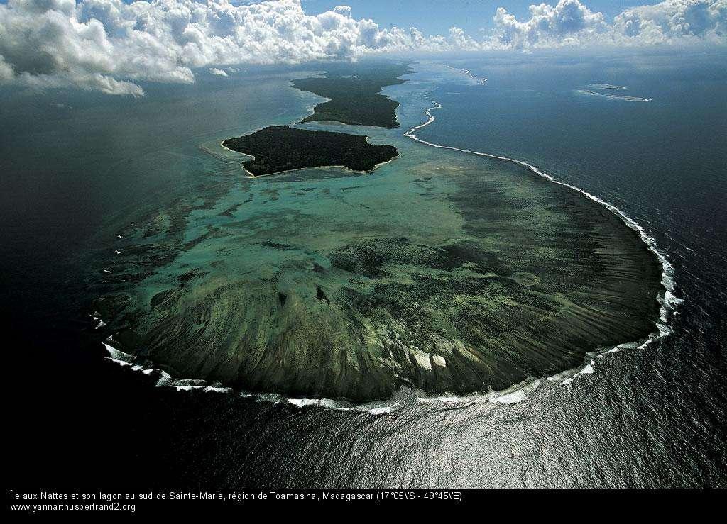 Madagascar Île aux Nattes et son lagon au sud de Sainte-Marie, région de To