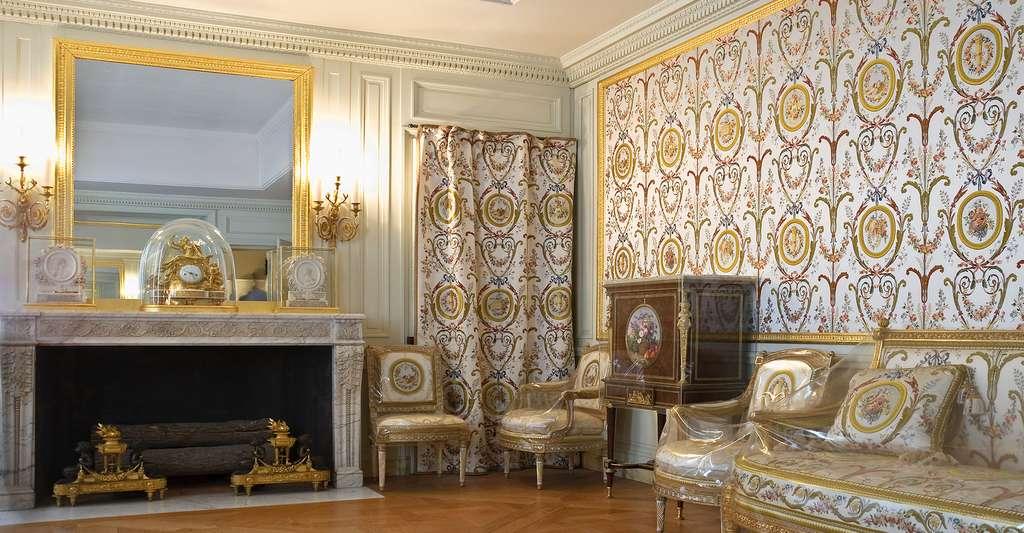 Le cabinet du Billard de Marie-Antoinette, dans les cabinets intérieurs de la Reine, au château de Versailles. © Jacques Gondouin, CC by-sa 3.0