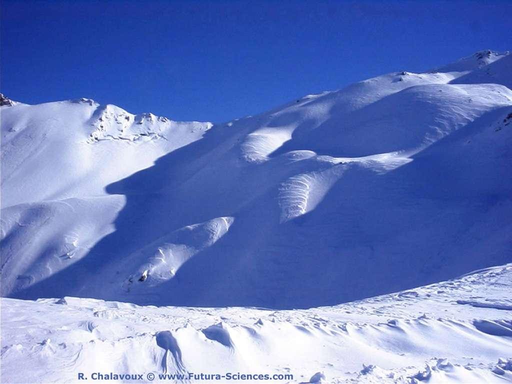 Montagne neigeuse