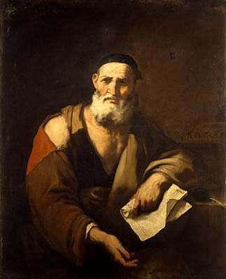 Portrait du philosophe Leucippe, considéré comme l'inventeur de l'atomisme philosophique. © Jean-Jacques Milan, DP