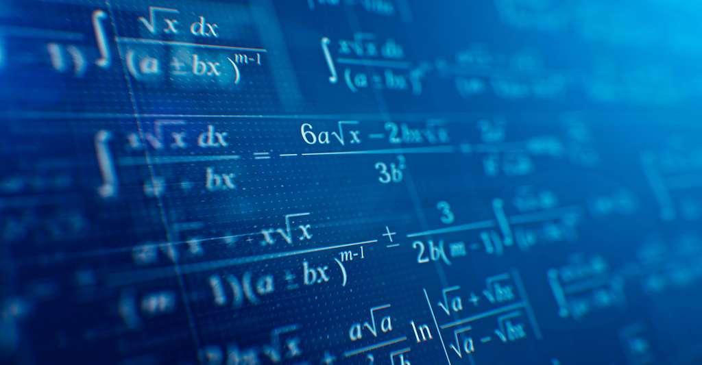 Quelques formules mathématiques. © Sashkin, Fotolia
