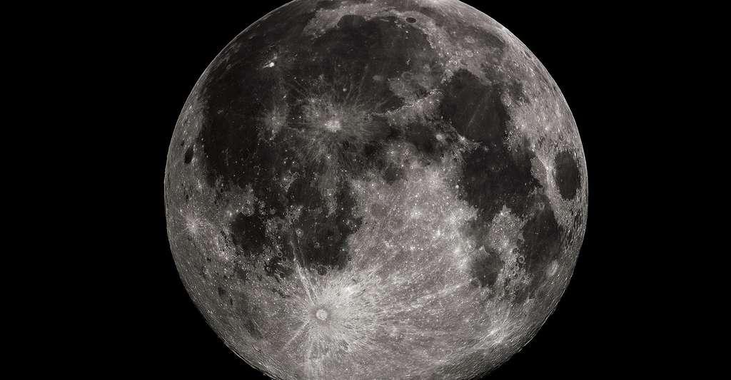 Photo de la pleine lune à Madison, dans l'Alabama (Etats-Unis). © Gregory H. Revera, CC BY-SA 3.0