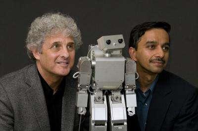 Morphy, le robot utilisé pour l'expérience, ne ressemble pas à un humain, mais est considéré comme vivant par la majorité des bébés ! © Université de Washington