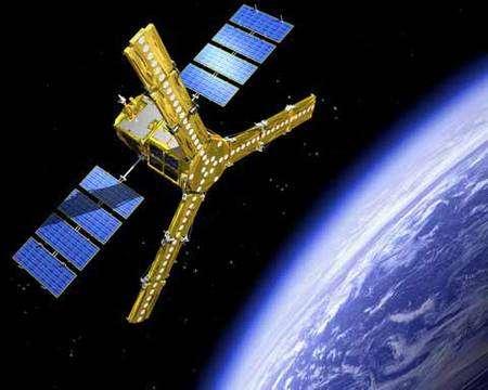 Smos en orbite (vue d'artiste). Crédit Esa