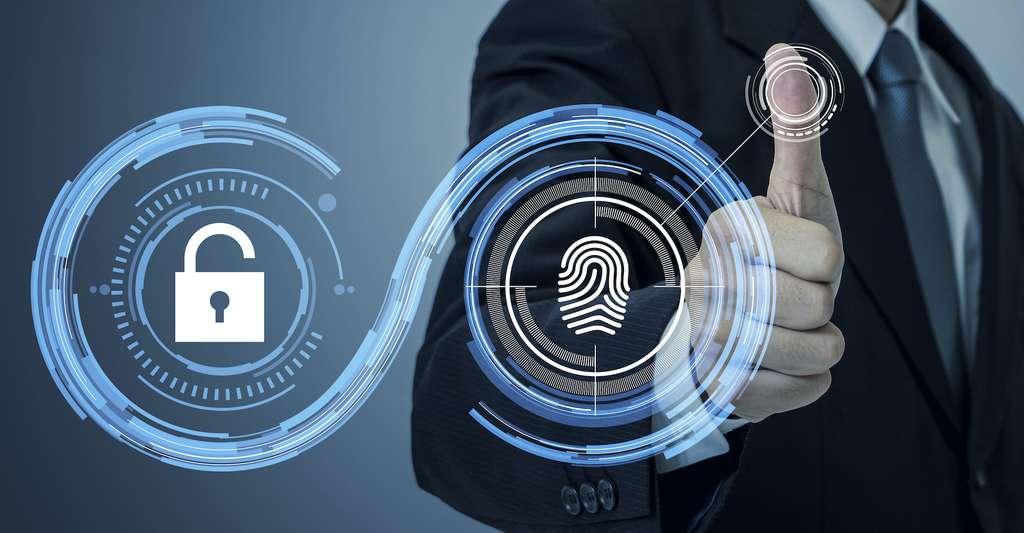 Certaines serrures intelligentes s'actionnent par reconnaissance d'empreinte digitale, une manière de prévenir les intrusions. © metamorworks, Adobe Stock