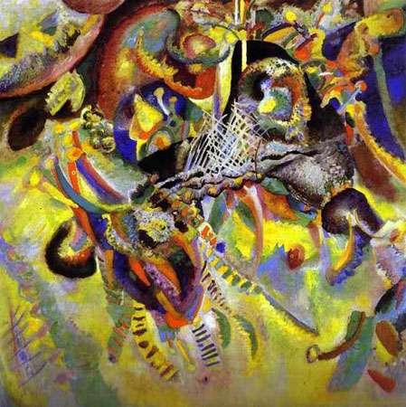 Fugue (1914) de Wassily Kandinsky. © Domaine public (Wikimedia Commons)