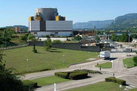 Superphénix, Centrale nucléaire de Creys-Malville, Isère, France. © Wikipedia Yann Forget