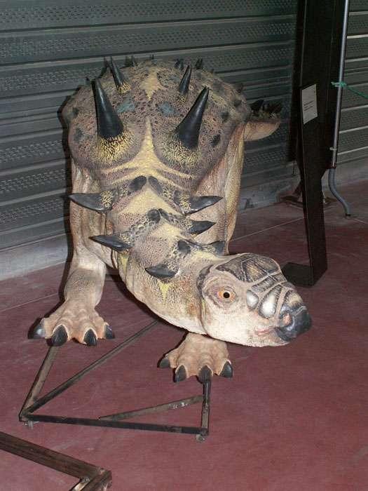 Struthiosaurus, un ankylosaure du Crétacé supérieur