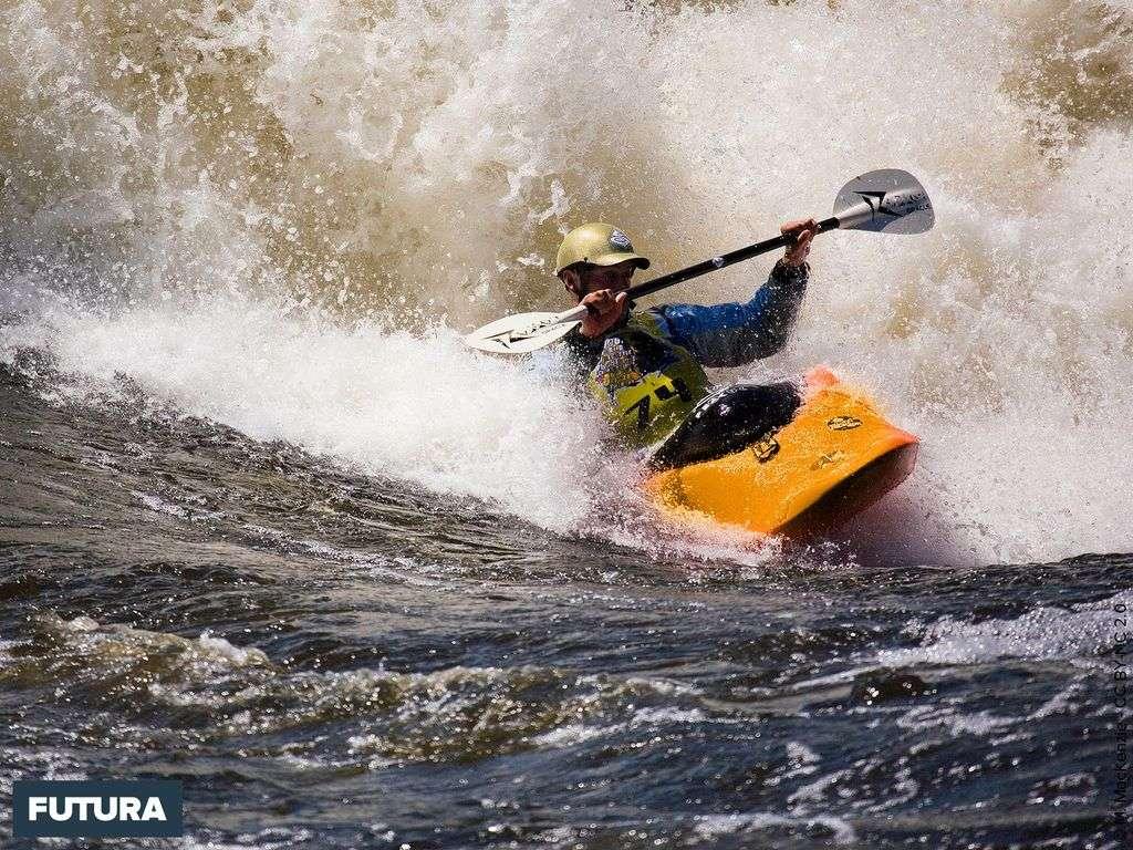 Descente en kayak