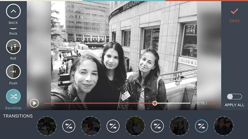 FilmoraGo est une application permettant de créer de manière rapide et amusante des vidéos puis de les partager ensuite. © Wondershare