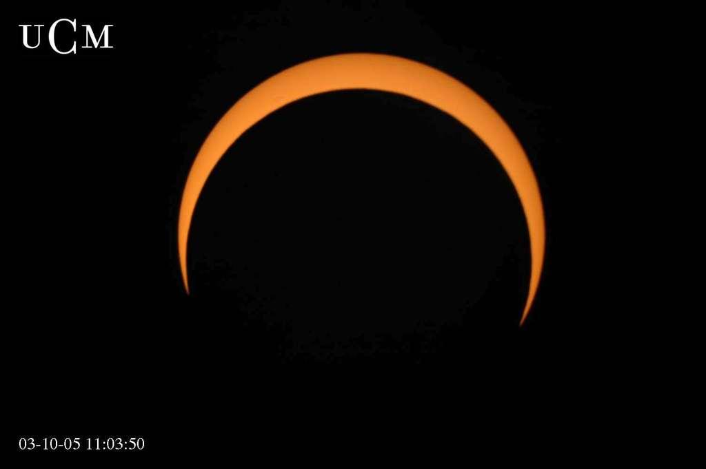 Eclipse partielle de soleil du 3 octobre