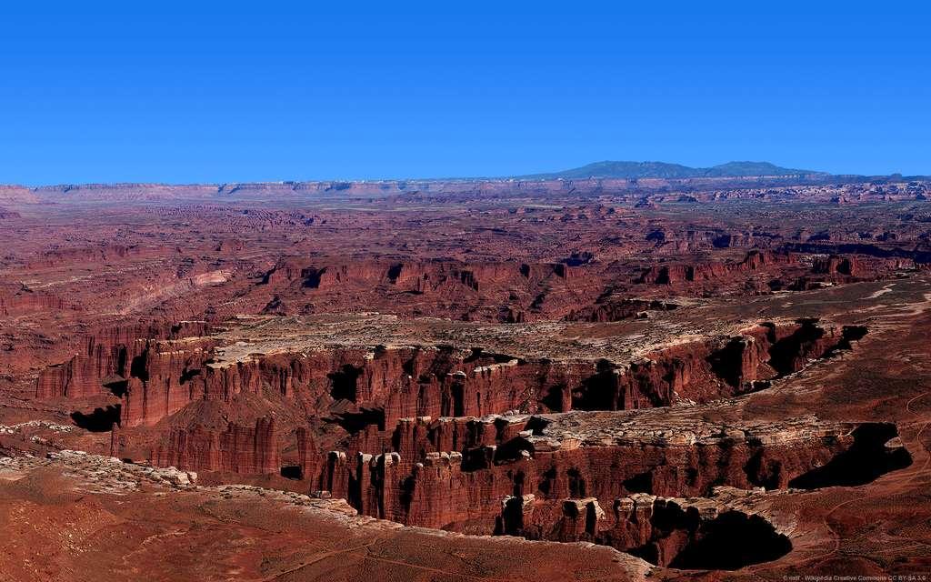 Le parc national de Canyonlands, emblématique de l'Ouest américain