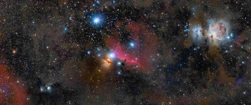 Une nouvelle vue sur «Les bijoux d'Orion» (The Jewels of Orion). © Ross Clark
