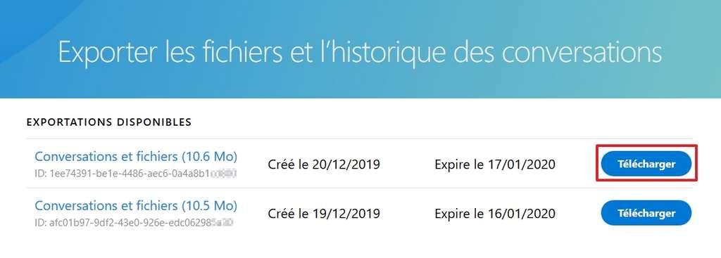 Cliquez sur « Télécharger ». © Microsoft