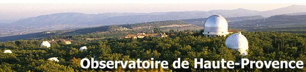 L'observatoire de Haute-Provence. © OAMP