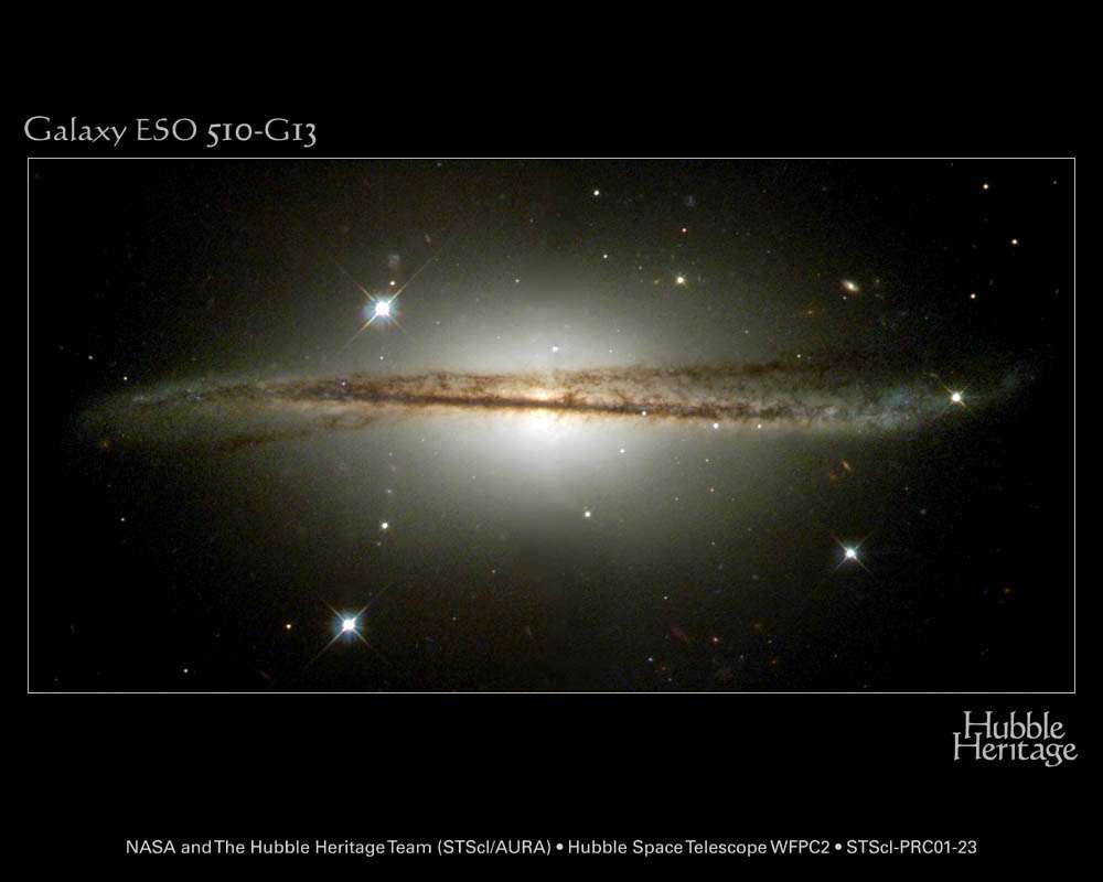 Hubble : Galaxie ESO 510-G13
