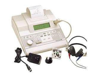 Un tympanomètre réalise un tympanogramme. © medilor.be