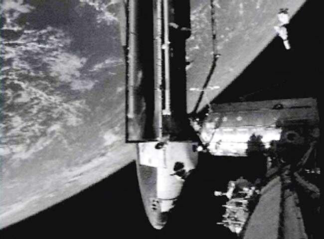 Arrimage réussi à l'ISS