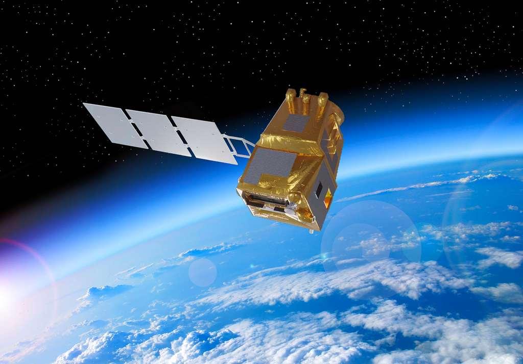 Land Surface Temperature Monitoring (LSTM), futur satellite Sentinel du programme Copernicus. © Airbus