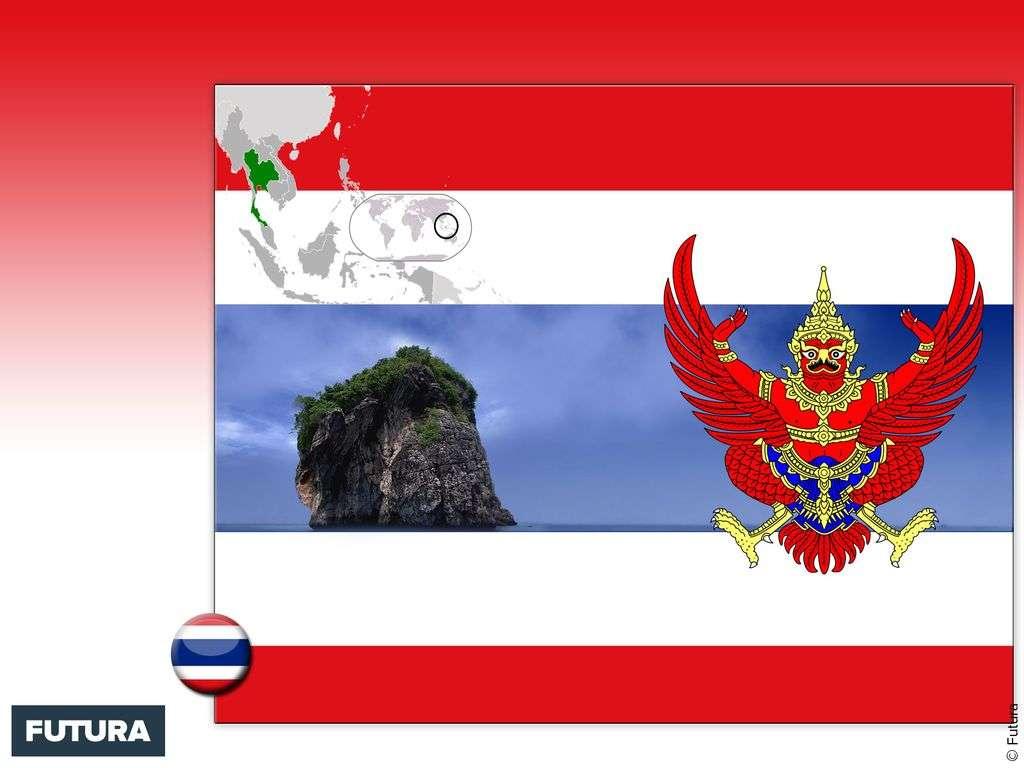 Drapeau : Thaïlande