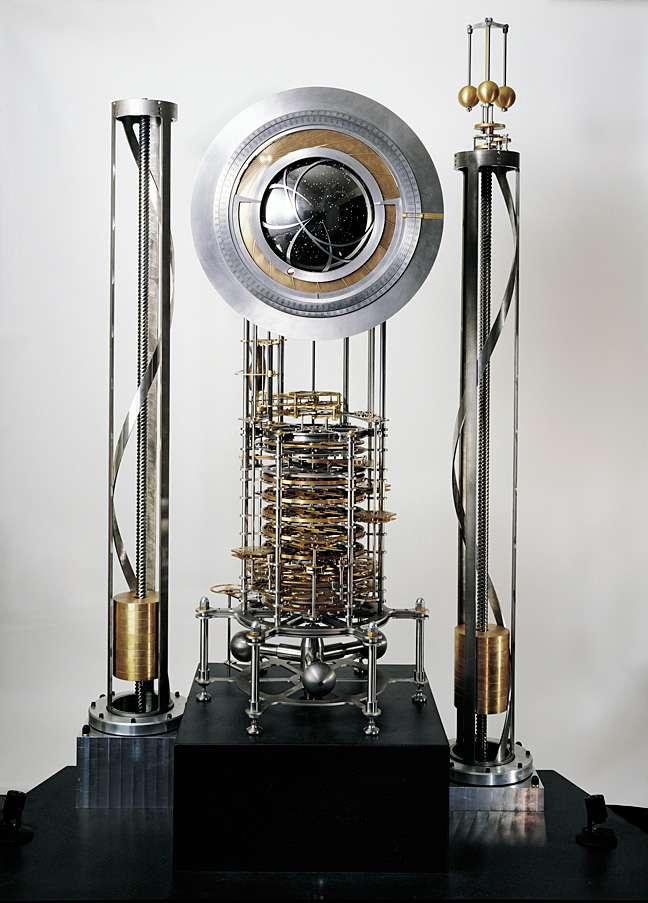 Un prototype de l'Horloge du Long Maintenant. © Rolfe Horn