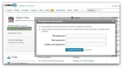 L'éditeur de solutions de sécurité Sophos a analysé le phénomène et explique sur son site comment modifier le mot de passe d'un compte Linkedin. © Sophos