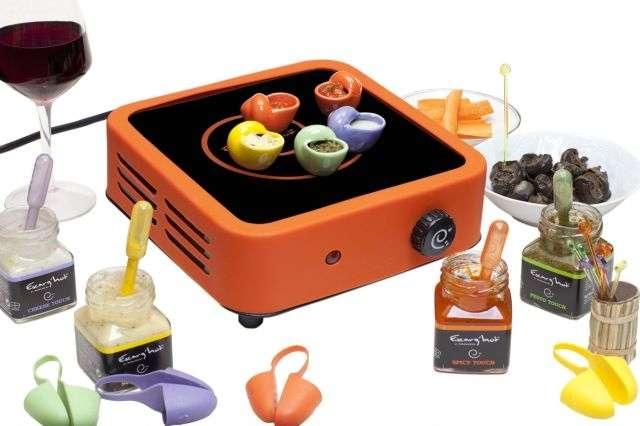 Escarg'Hot, une machine pour revisiter la dégustation des escargots. © Concours Lépine 2012