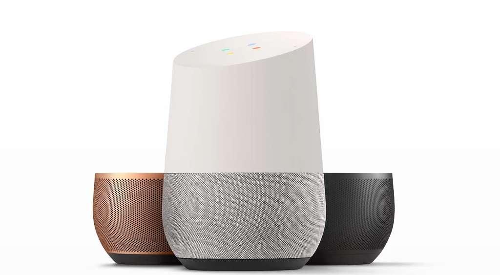Google Home : l'enceinte connectée de Google. © Google