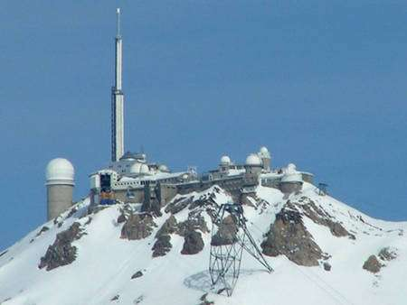 Observatoire du Pic du Midi © Christophe Jaquet Wikipedia