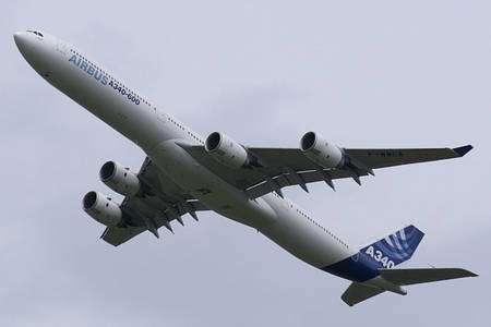 Airbus A340 en présentation. © Creative Commons