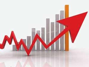 Croissance : la courbe rouge de ce graphique représente très bien la croissance discontinue ! © DR