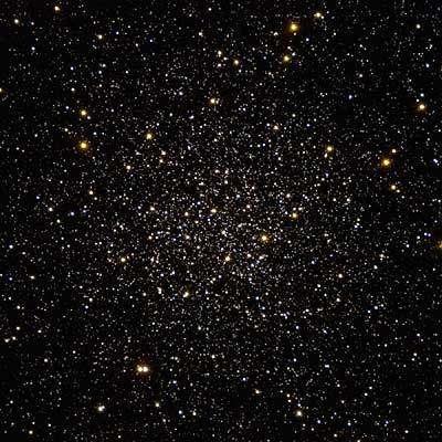 Image du centre de l'amas globulaire Messier 12 (Crédits : ESO)