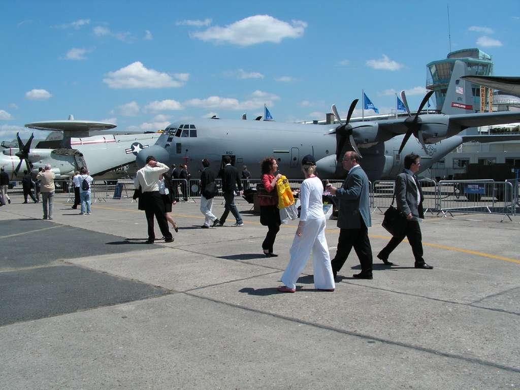 Hercules C130 - Les avions exposés au Salon du Bourget