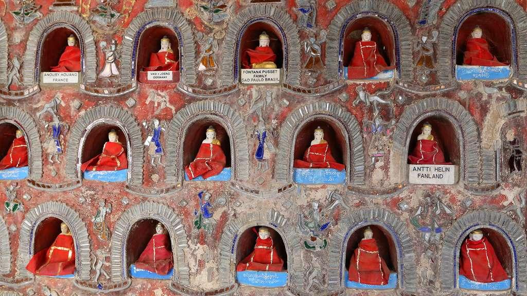 Le monastère Shwe Yan Pyay, près du lac Inle