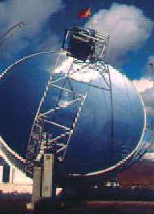 Installation européenne de captation d'énergie solaire thermique à la Plataforma solar d'Almeria (ES)© Rdt Info