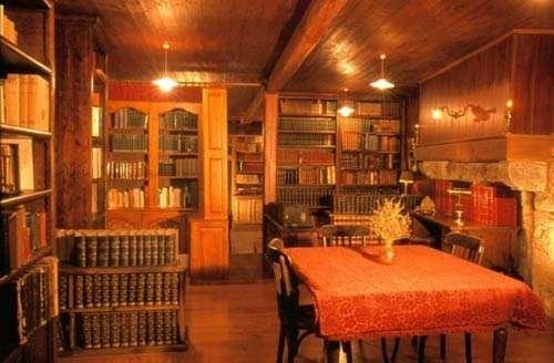 Bibliothèque © Photo Dominique Felga