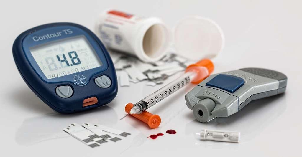 Selon l'Organisation mondiale de la santé, le nombre de personnes atteintes de diabète a quadruplé au cours des 40 dernières années. Le diabète de type 2 représente la majorité des cas. © stevepb, Pixabay, CC0 Creative Commons