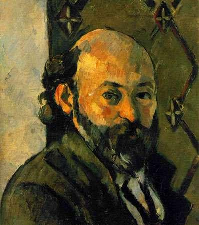 Autoportrait de Cézanne