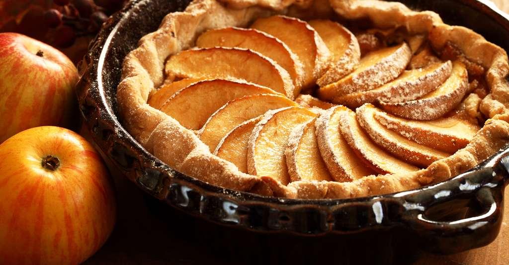 Comme le fait une tarte aux pommes à peine sortie du four, les ions sont censés refroidir jusqu'à la température ambiante au contact d'un gaz plus froid qu'eux. © Magdalena Kucova, Shutterstock