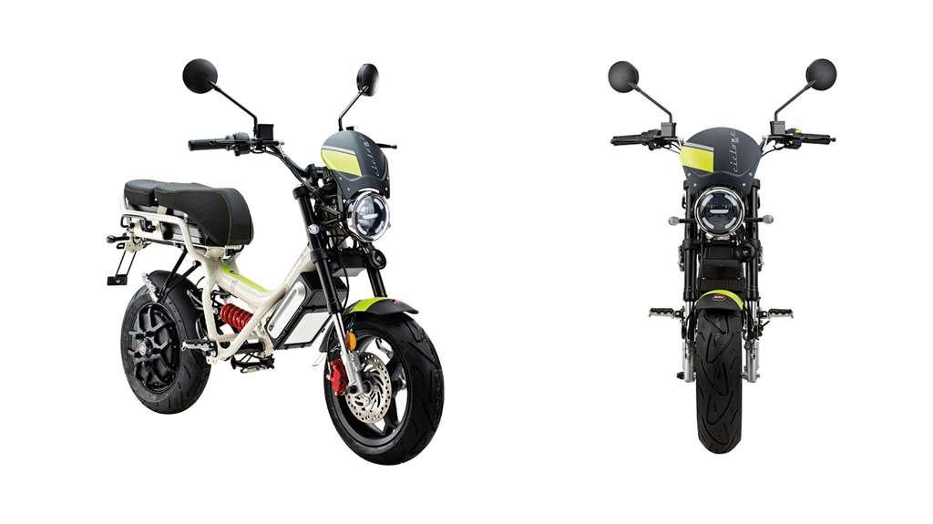 Le scooter électrique Garelli Ciclone E4 dans sa version Soul. © Garelli