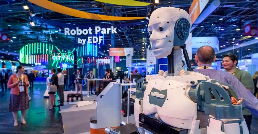 Sur le Robot Park, on attend cette année encore la présentation de tous les robots de dernière génération dont ANYmal. © Sipa VivaTechnology
