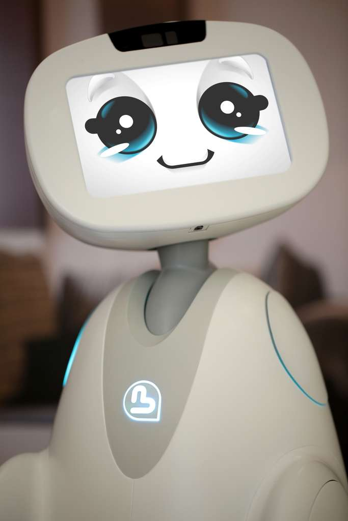 Le robot Buddy. © Blue Frog Robotics