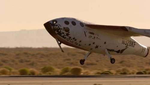 Second vol suborbital de SpaceShipOne